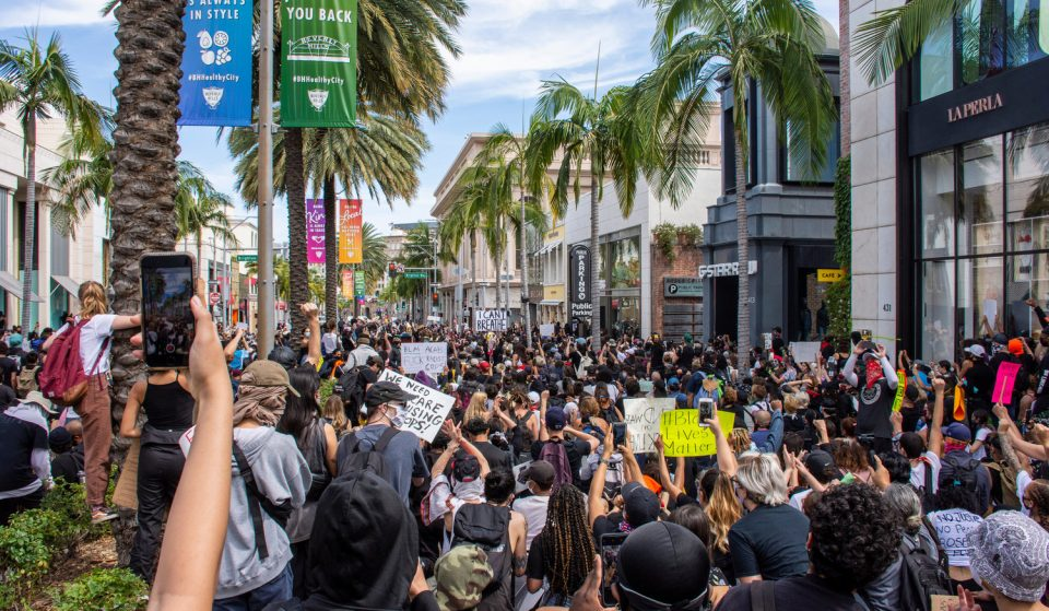 L.A. Curfews Have Been Canceled As Protests Remain Largely Peaceful
