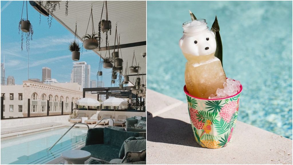 Soak Up The Sun And Sip On Cute Honeybear Cocktails At This Rooftop Spot