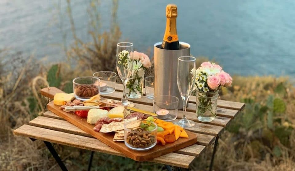 Design Your Own Cliffside Dining Experience On An Island Off The Coast Of California