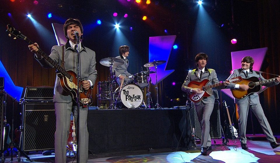 Relive The Beatles Era With The Fab Four's Ultimate Drive-In Tribute Concert