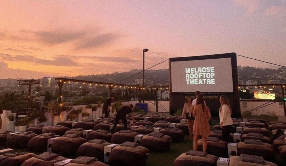 Melrose Rooftop Theater Is Open For A Socially-Distanced Outdoor Experience This Summer