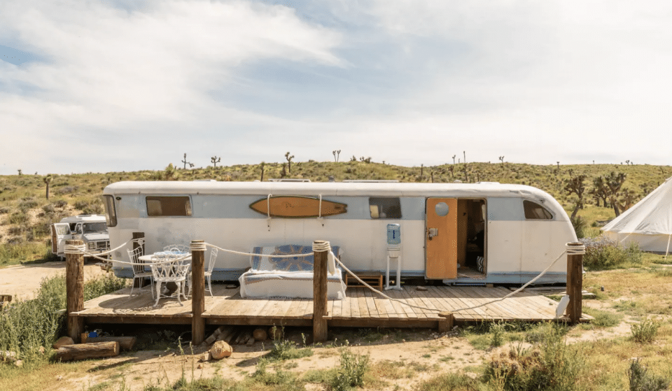 This Off-The-Grid Experience On The Edge Of Joshua Tree Is A Desert Paradise