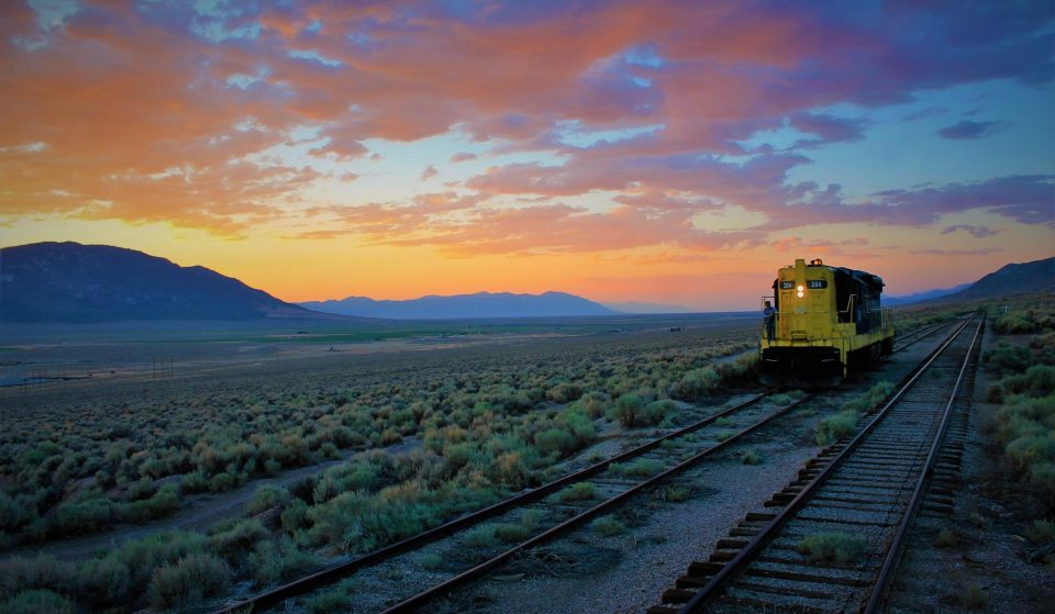 Take An Unforgettable Train Ride Under The Dark Nevada Skies To Gaze At The Stars