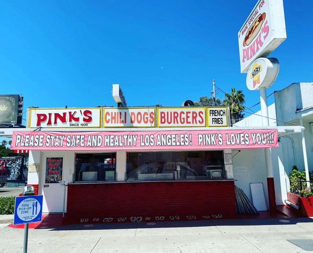 Pink's Hollywood