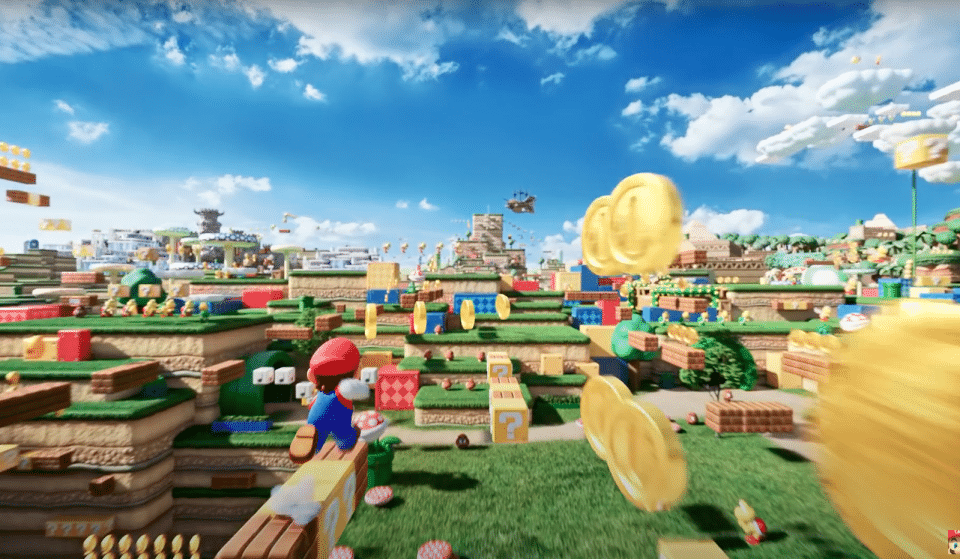 This Is Not A Drill! Super Nintendo World At Universal Studios Hollywood Is Underway