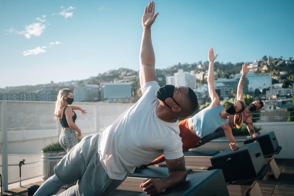rooftop pilates
