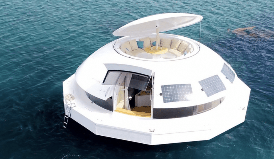 You Can Now Sail The World On A Luxury, Floating Pod
