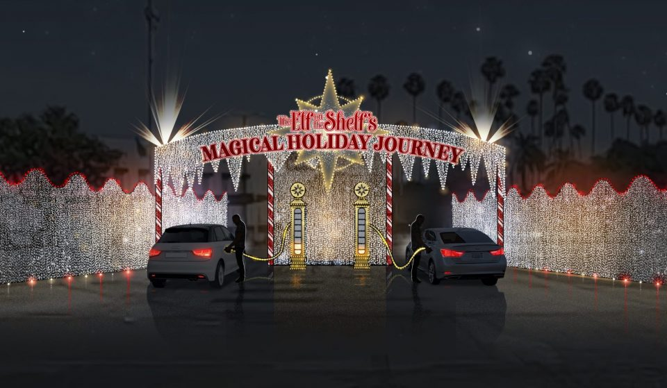 Go On A Magical Christmas Journey With 'The Elf On The Shelf' Drive-Thru In L.A. County