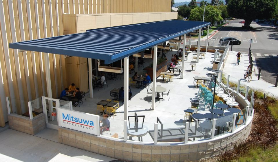 This Futuristic Japanese Grocery Store In Torrance Has Opened An Outdoor Patio