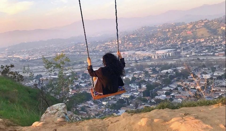 Hike To A Hidden Swing With One Of The Best Views Of Los Angeles
