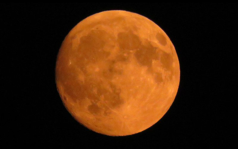 A Stunning Full 'Harvest Moon' Will Shine Over The L.A. Skies This Evening