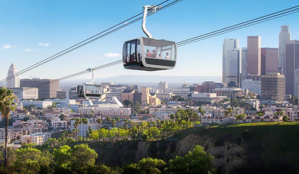 New Gondola Lift Could Take You From Downtown LA To Dodger Stadium In 7 Minutes!