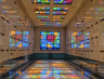 Bathe In Technicolor Light At This Magnificent Mausoleum In Mountain View
