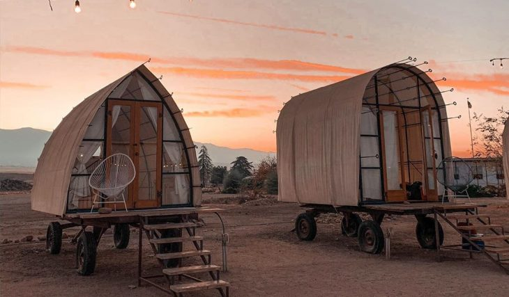 Take In The Breathtaking Desert Skies From A Cozy, Reimagined Wagon Near L.A.