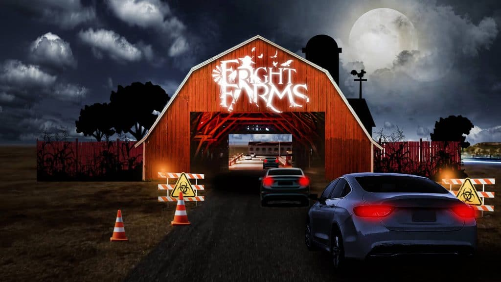 Fright Farms Drive-Thru Offers Guests Two Adventures Through 5 Eerie Acres  Of Land - Secret Los Angeles