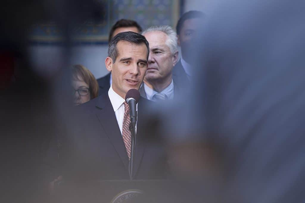 Garcetti Reverses Support For Jackie Lacey And Endorses George Gascón