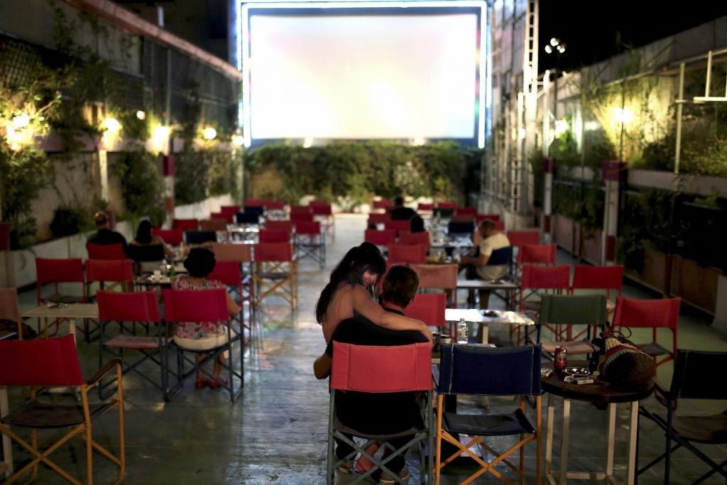 5 Magical Outdoor Spaces With Halloween Movie Screenings