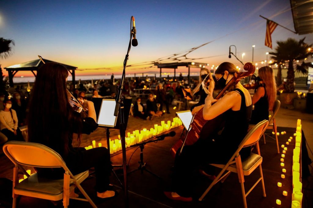 These Dreamy Candlelight Concerts Are Coming To L.A.'s Stunning Open-Air Spaces This Year