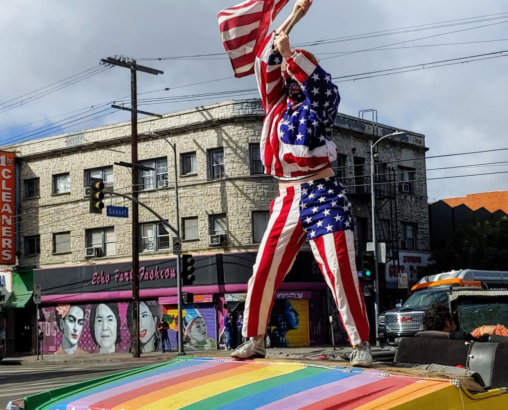 L.A. Hosts 'Spontaneous Block Party' As Joe Biden Is Elected President Of The United States
