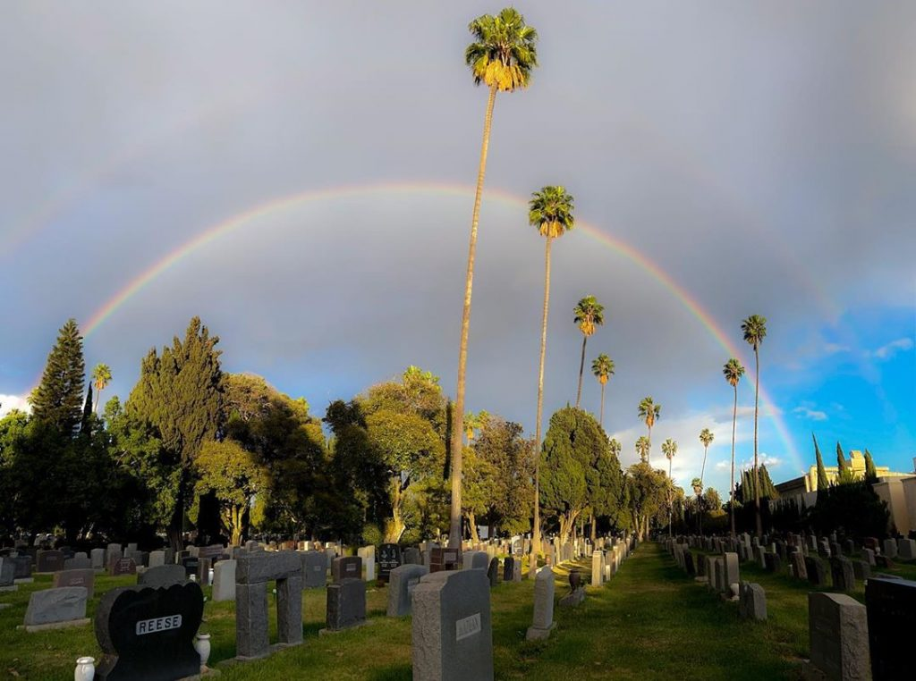 Rare Double Rainbows Over L.A. Were The Perfect End To Election Week