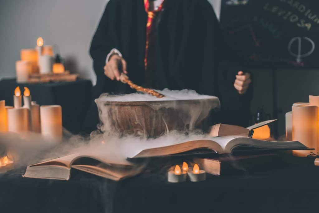 This Magical Cocktail Class At A Secret L.A. Location Will Transport You To A Wizarding Wonderland