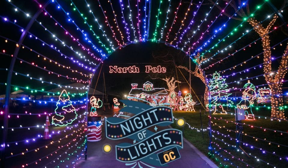 This Mile-Long Holiday Drive-Thru Will Be Lighting Up O.C. This Month, And It Sounds Absolutely Magical