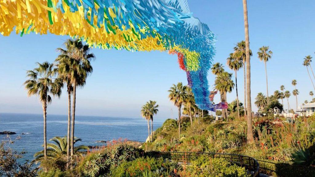 This Majestic Rainbow Installation Has Taken Over Heisler Park In Laguna Beach
