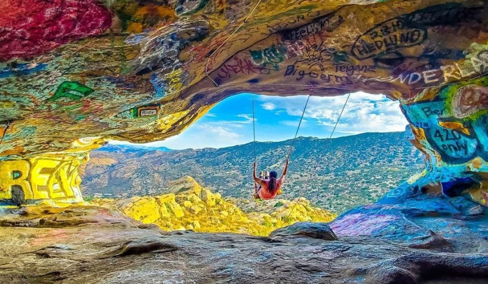 Hike To This Secret Cave Swing For Breathtaking Views Of The Valley
