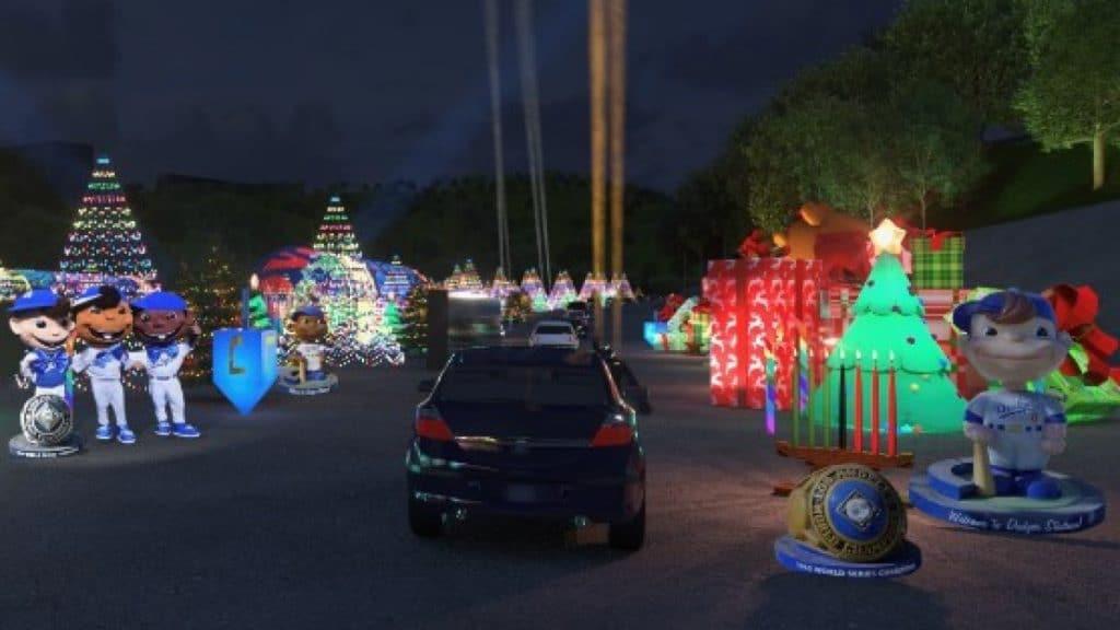 dodgers holiday drive-thru