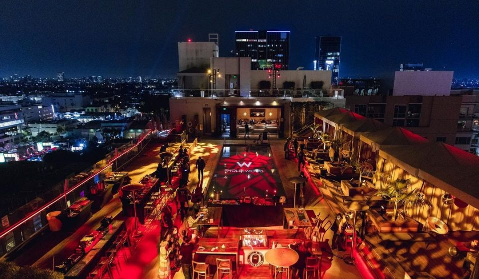 This Fiery Fine-Dining Experience Comes With Seasonal Cocktails And Breathtaking Views Of Hollywood