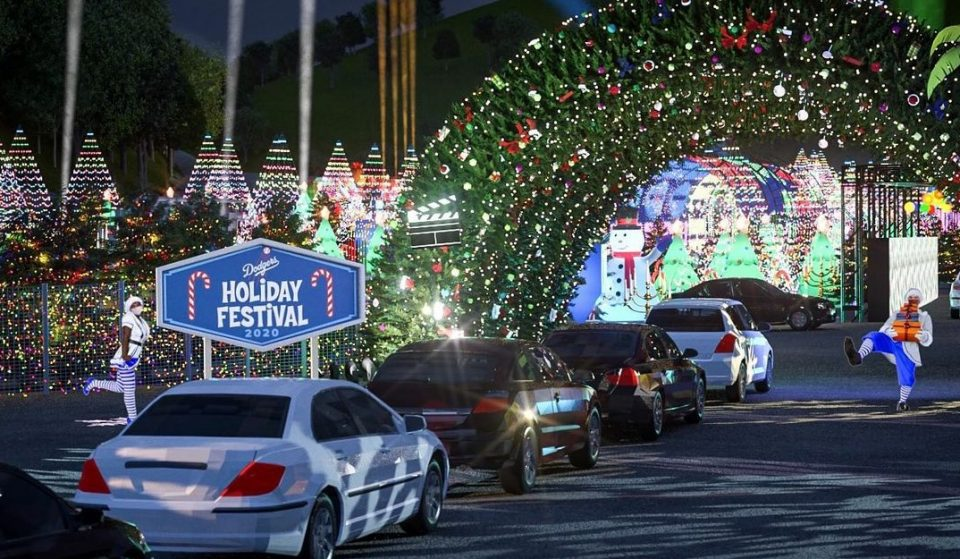 The Dodgers Will Celebrate Their World Series Win With A Spectacular Holiday Drive-Thru Festival