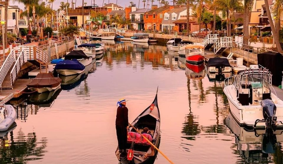 This Gondola Cruise Offers A European Escape Along The Canals Of Long Beach