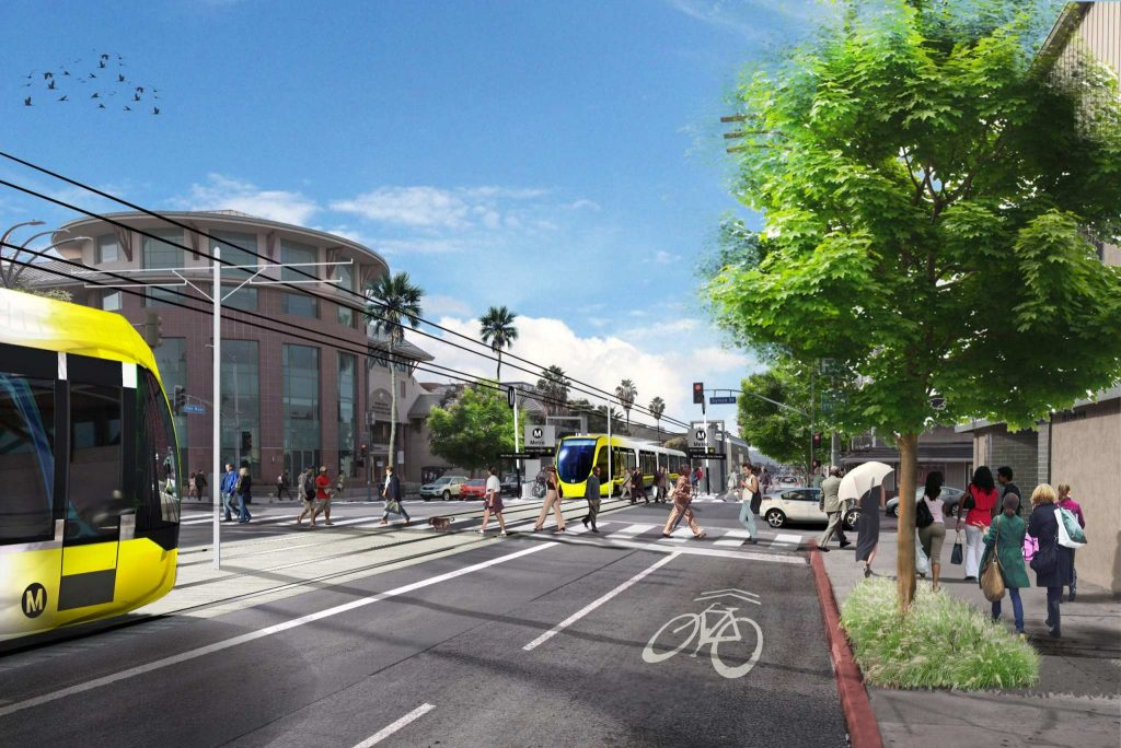 Metro Approves Final San Fernando Valley Light Rail Transit Project