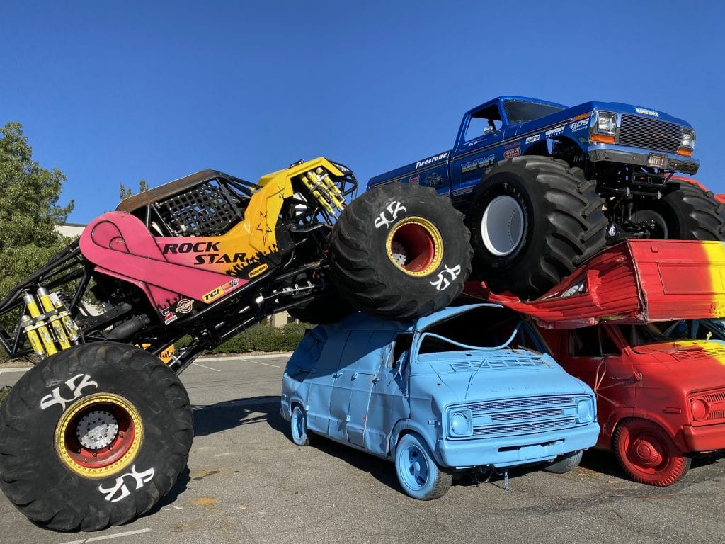 Ride Into The Largest Collection Of Life-Sized Hot Wheels At This Drive-Thru In L.A.
