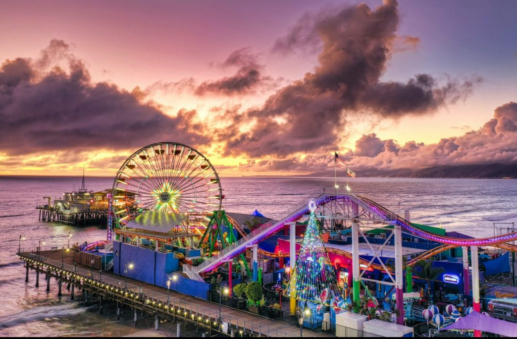 Santa Monica Pier Will Be Closed On Weekends As Record-Breaking Numbers Continue In L.A.
