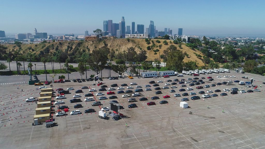 Dodger Stadium Reopens As The Largest Vaccination Site In America