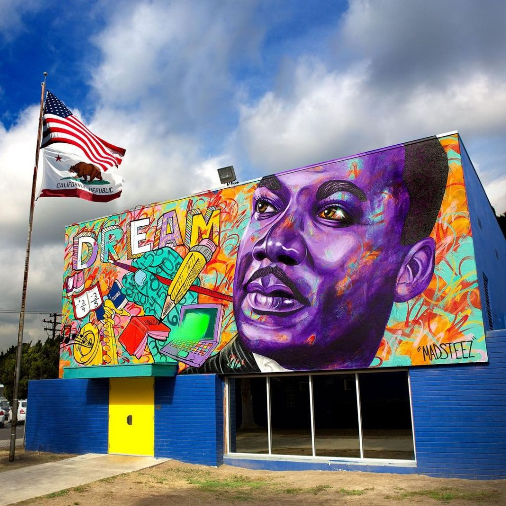 Powerful Martin Luther King, Jr. Murals Around L.A.