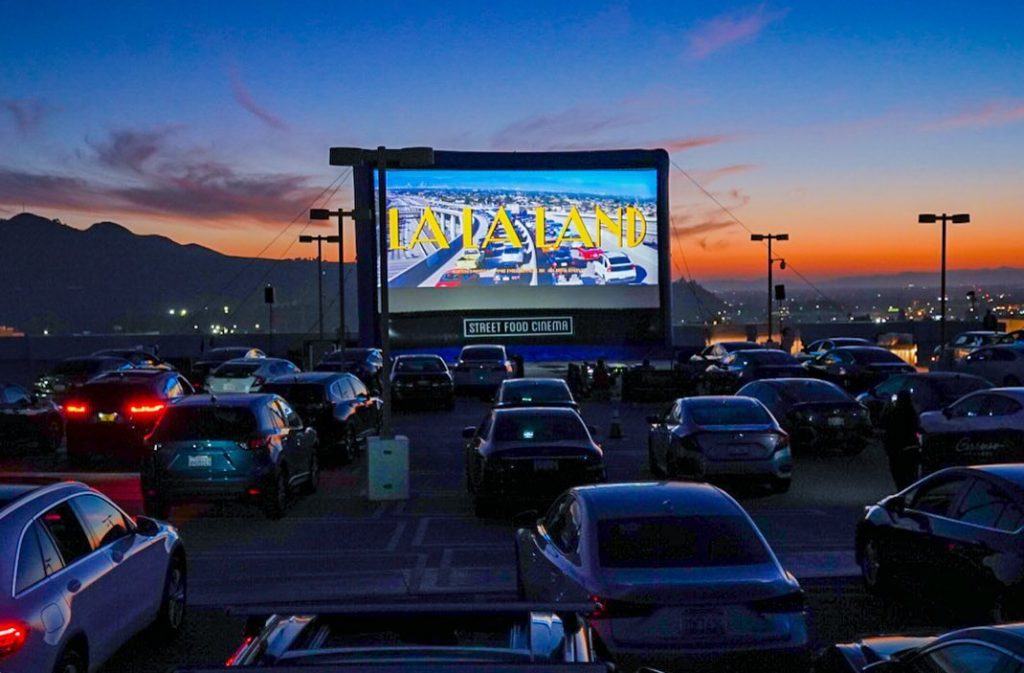 Street Food Cinema Is Bringing A Feast Of Romantic Films To Santa Monica Airport