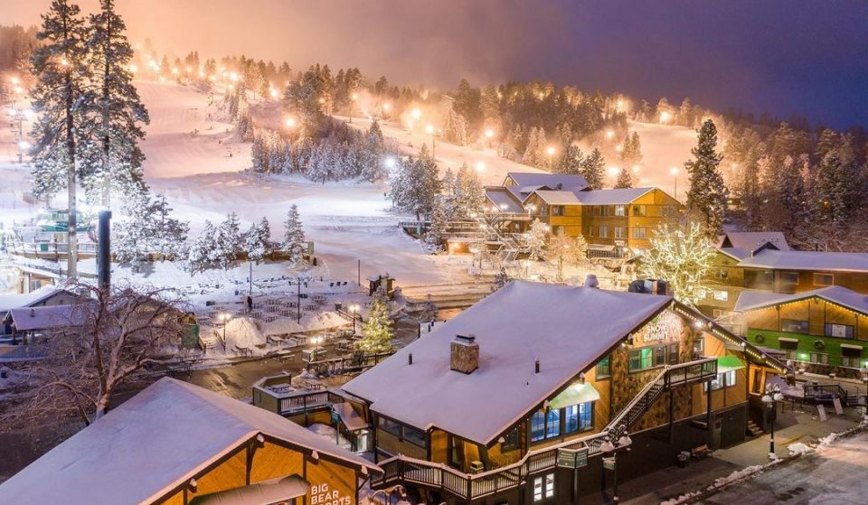 Night Skiing In Big Bear Is The Magical Winter Escape We Need Right Now