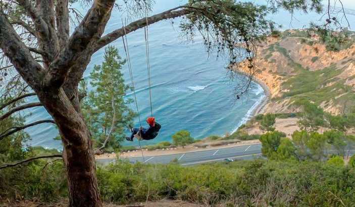 Hike To A Hidden Swing With Breathtaking Views Of The Pacific Ocean