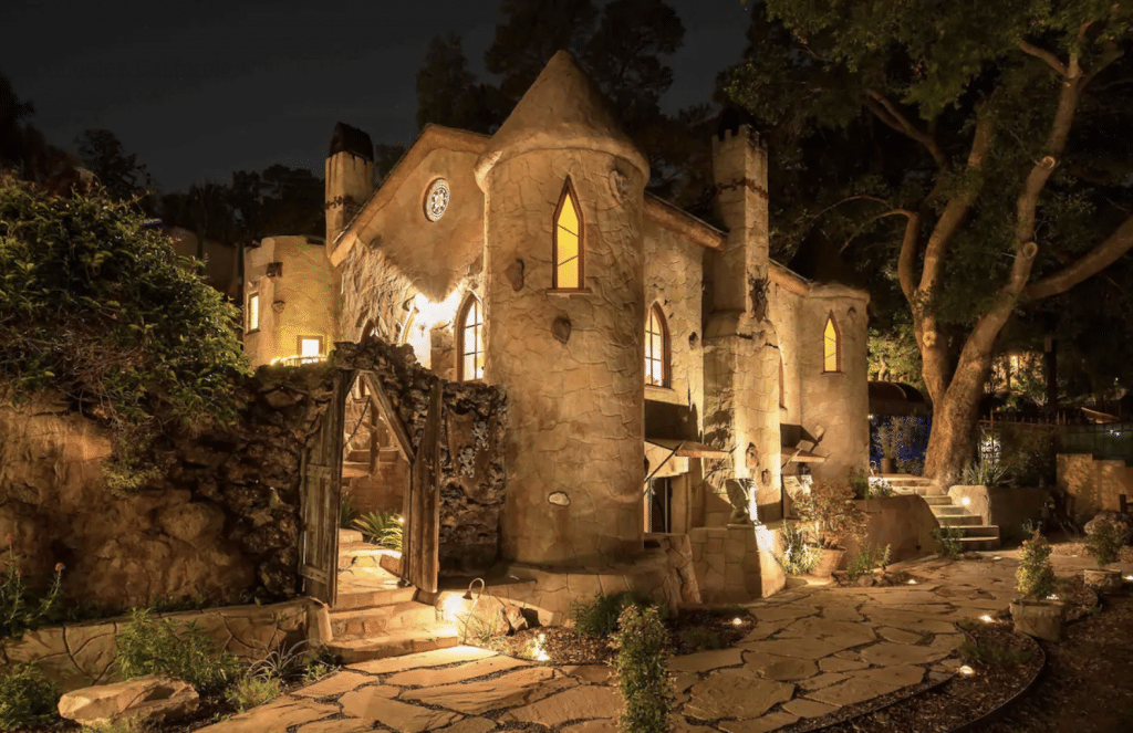 You Can Stay In This Enchanting 1930s Castle In Hollywood Hills
