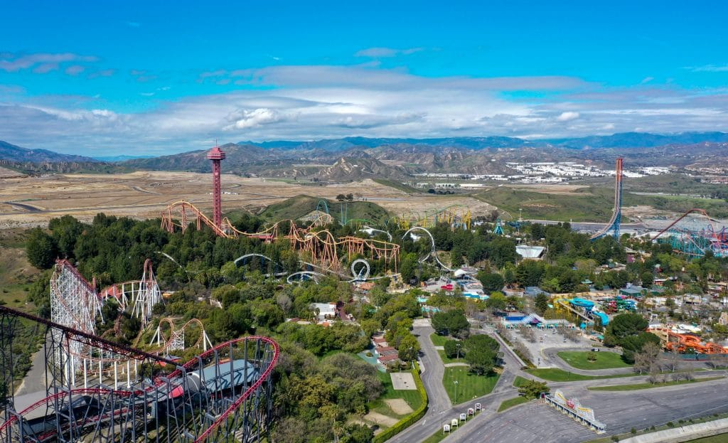 Six Flags Magic Mountain Plans To Reopen With Rides On April 1