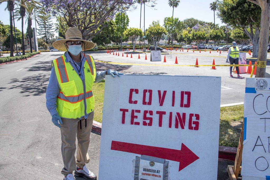 You Can Now Get A Free Covid Test Without An Appointment In L.A.