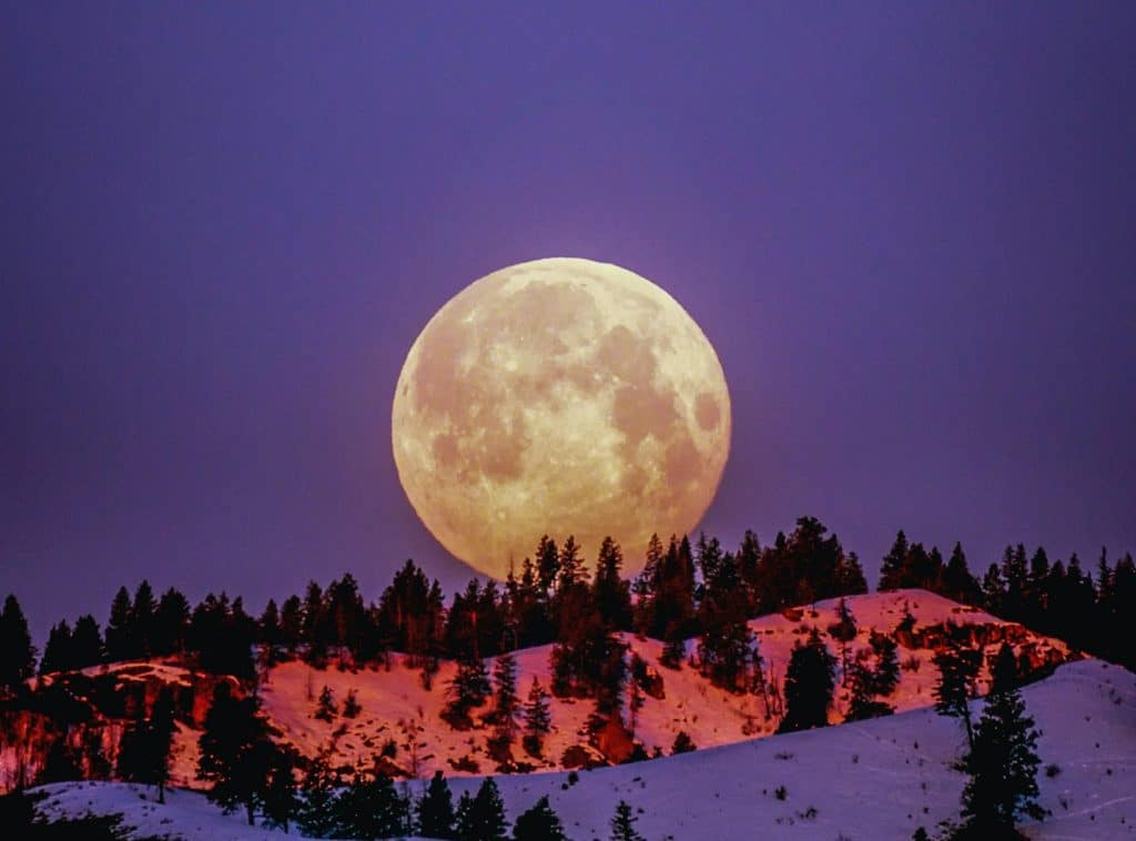 A Full 'Snow Moon' Will Illuminate The Night Sky This Weekend