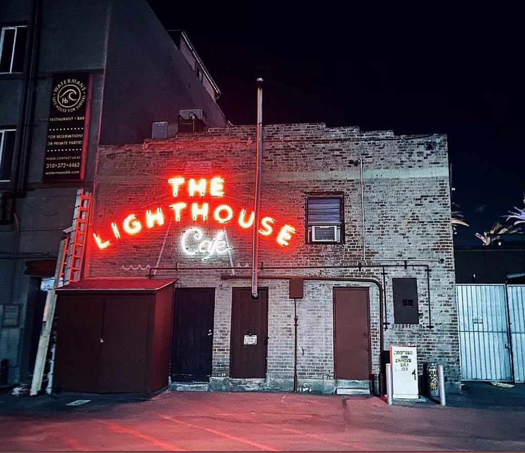 Historic Jazz Venue The Lighthouse Cafe Is Open With An Extended Patio