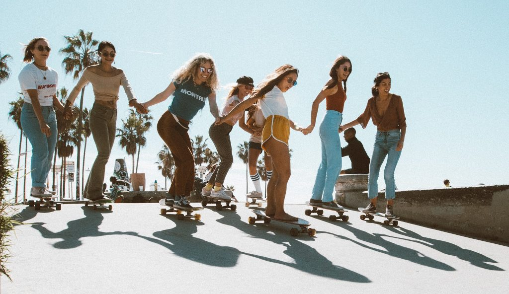 Meet The All-Womxn Skateboarding Collective Redefining The Rules