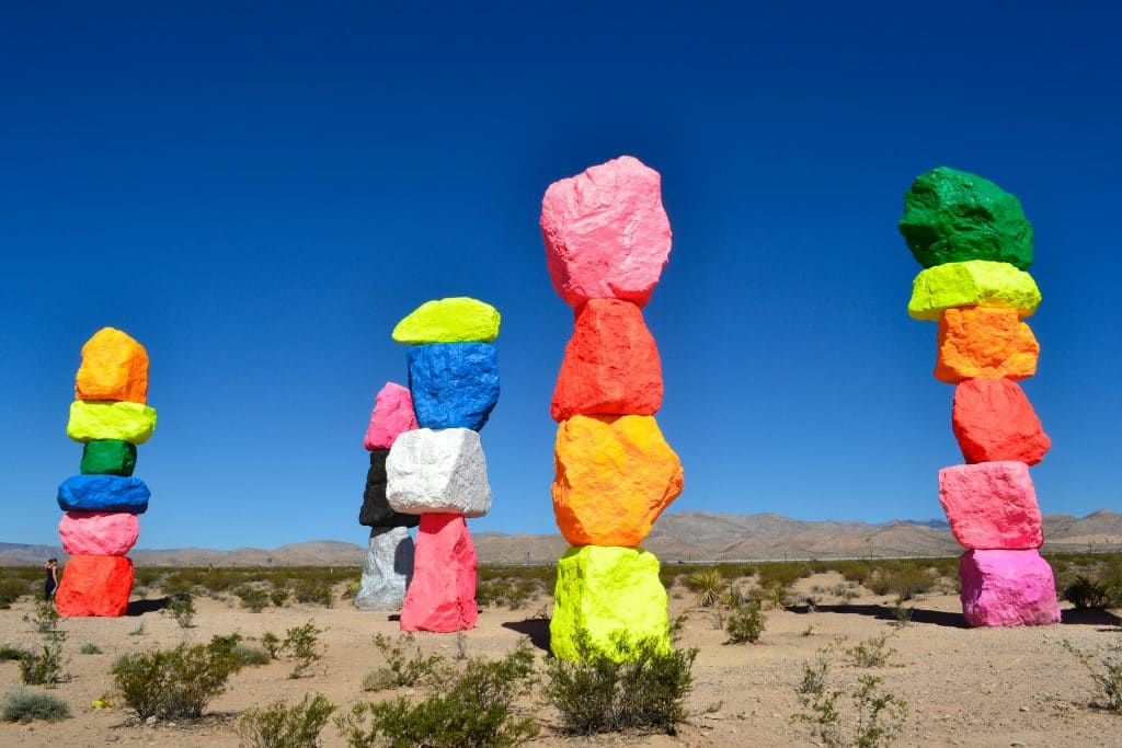 Take A Magical Trip To These Technicolor Towers In The Desert