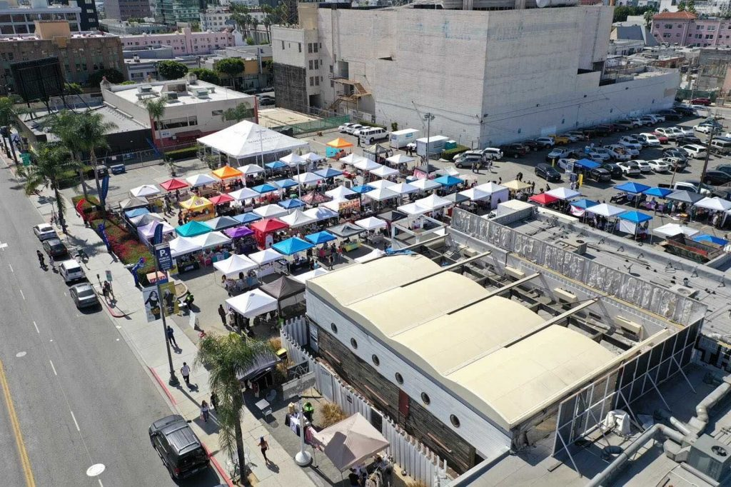 There's A Hollywood Market With Craft Food, Fashion & Art Happening Every Other Sunday