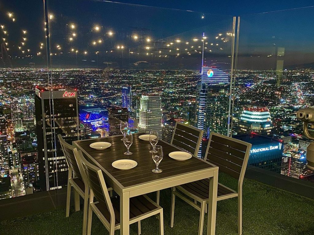 Vista Patio On The 69th Floor Of The US Bank Tower Is Now Closed