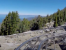 There's An Alpine Coaster That Winds Through The Rocks And Forests At Lake Tahoe